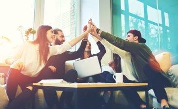 Teamarbeit Teamgeist